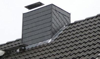 Zimmerei Hinz Schornstein Solide Zimmererarbeit Am Bau Aus Bad